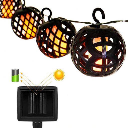 guirlande lanterne solaire etanche