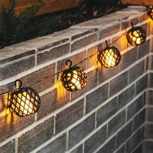 guirlande lanterne solaire extérieur