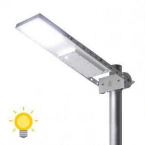 lampadaire solaire avec detecteur mouvement