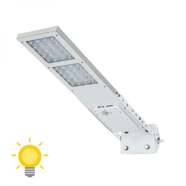lampadaire solaire pour eclairage exterieur