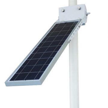 lampadaire solaire pour eclairage exterieur autonome