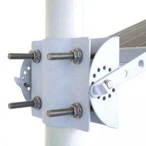 lampadaire solaire pour eclairage exterieur led