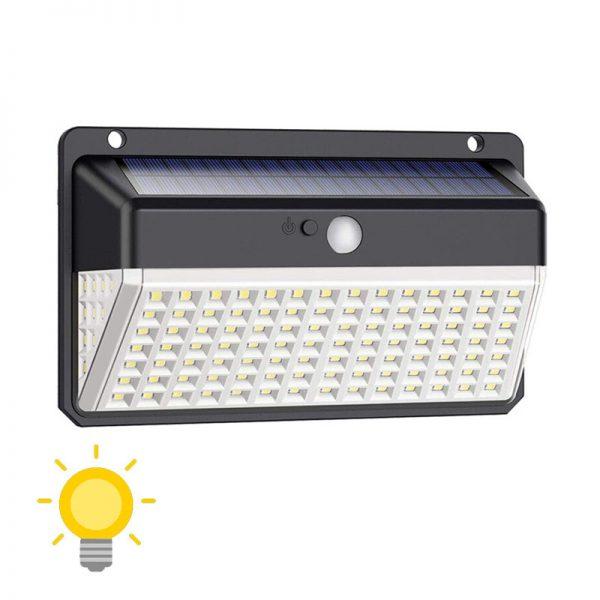 lampe avec capteur solaire