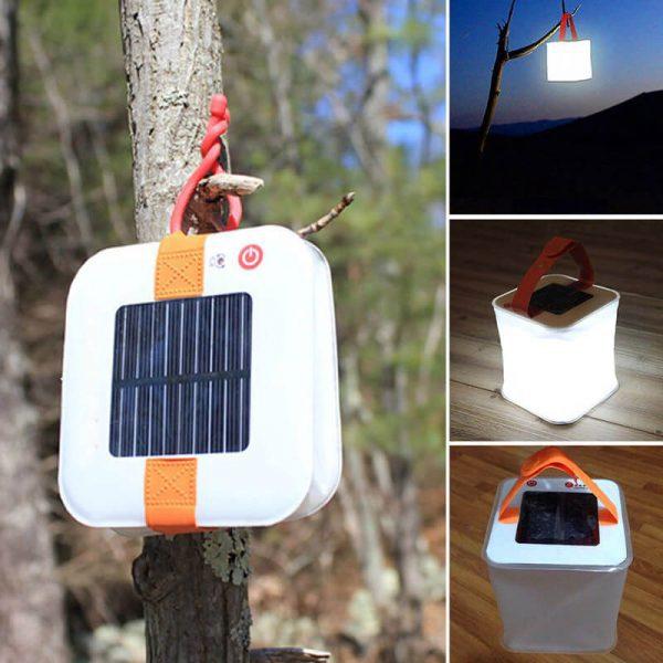 lampe camping solaire led etanche