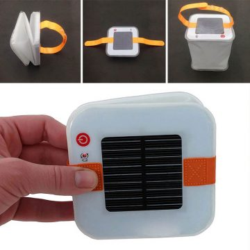 lampe camping solaire led pas cher