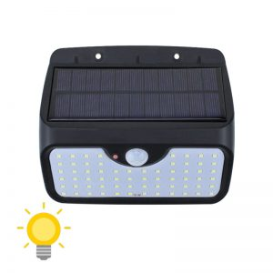 lampe d entree solaire avec detecteurs de mouvements