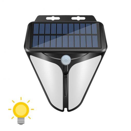 lampe detecteur de presence solaire