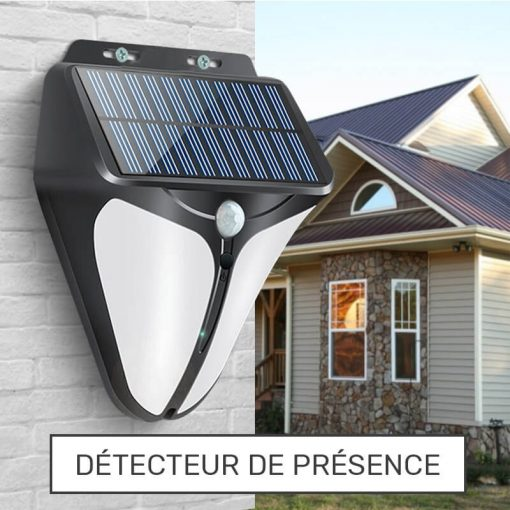 lampe detecteur de presence solaire exterieur
