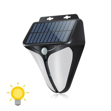 lampe detecteur de presence solaire led