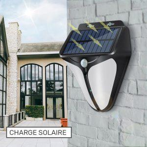 lampe detecteur de presence solaire puissante