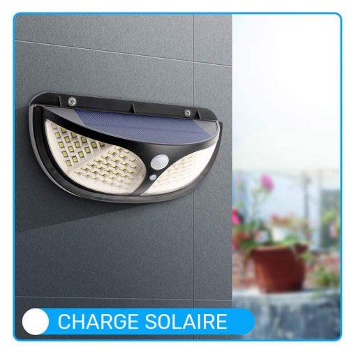 lampe exterieure autonome led a energie solaire terrasse