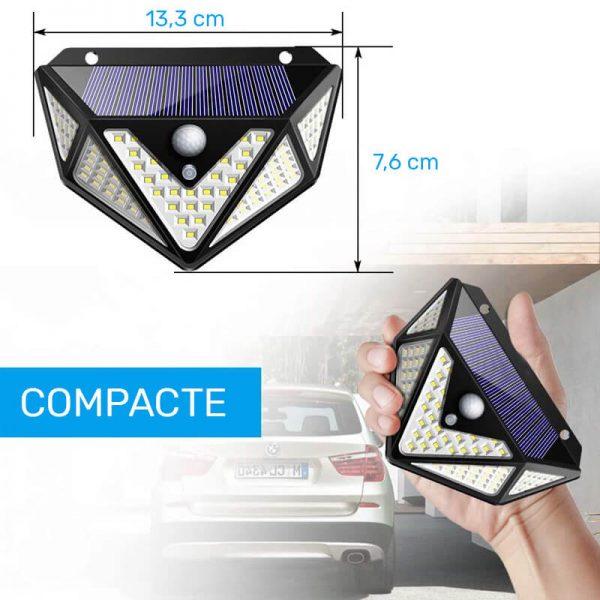 lampe led solaire pour terrasse puissante