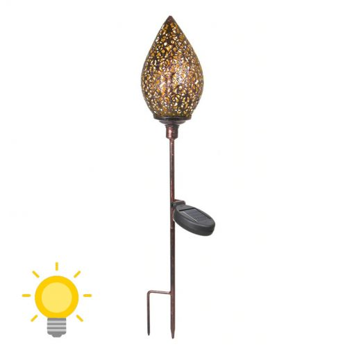 lampe solaire decoration a planter