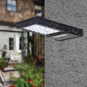 lampe solaire dextérieur avec détecteur de mouvement jardin