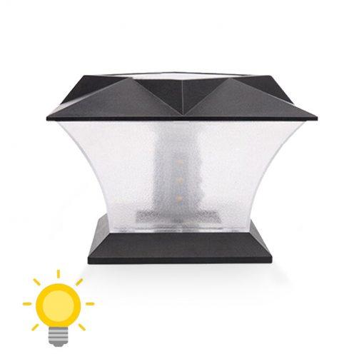lampe solaire exterieur pour pilier de portail