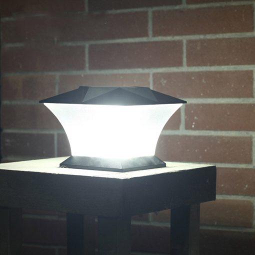 lampe solaire exterieur pour pilier de portail led