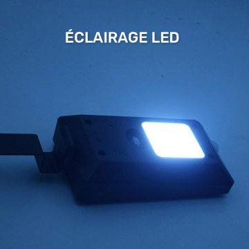 lampe solaire pour cloture exterieur