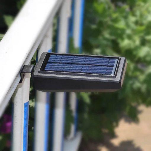 lampe solaire pour cloture led
