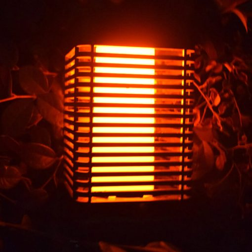 lanterne flamme solaire jardin