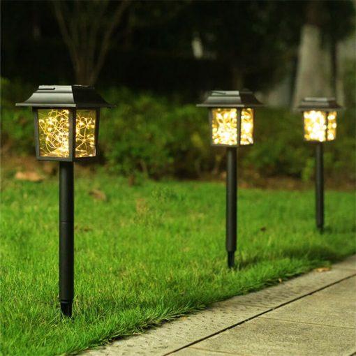 lanterne solaire de jardin puissante