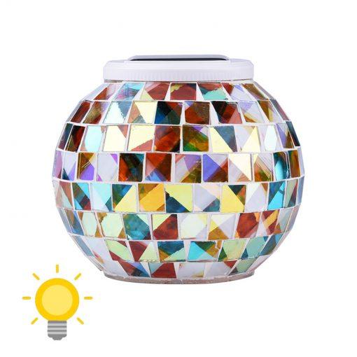 lanterne solaire mosaique