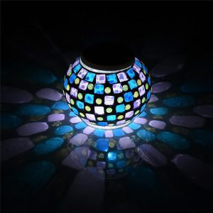 lanterne solaire mosaique qualite