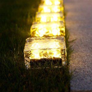 pavé lumineux 10x10 solaire exterieur