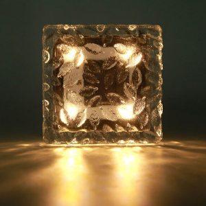 pavé lumineux 10x10 solaire puissant