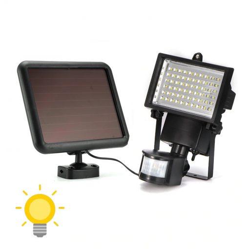 projecteur solaire exterieur led avec detecteur de mouvement