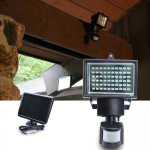 projecteur solaire exterieur led avec detecteur de mouvement pas cher