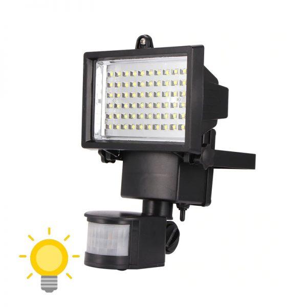 projecteur solaire exterieur led avec detecteur de mouvement puissant
