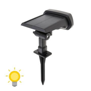 spot avec detecteur de mouvement solaire exterieur