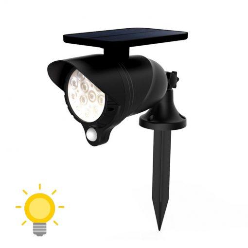spot led détecteur de mouvement solaire