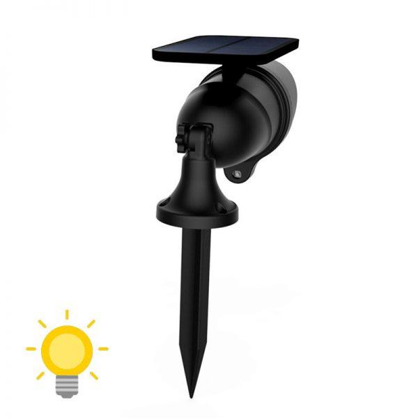 spot led détecteur de mouvement solaire puissant