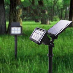 spot led panneau solaire JARDIN