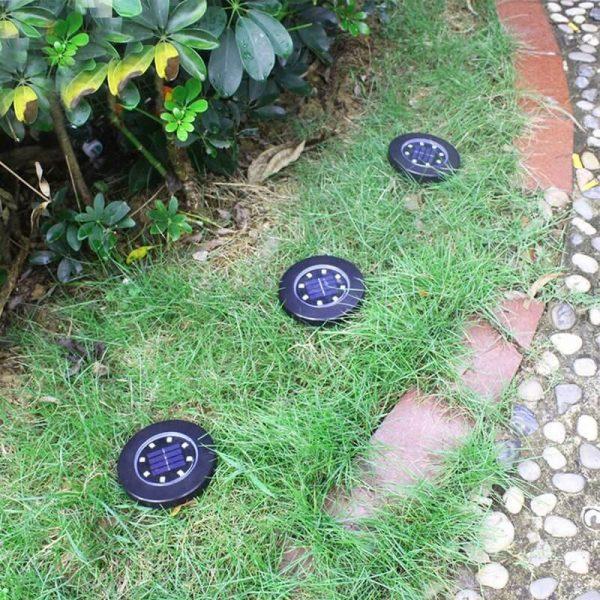 spot led solaire encastrable exterieur jardin