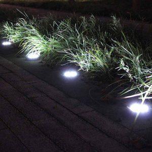 spot led solaire encastrable exterieur terrasse