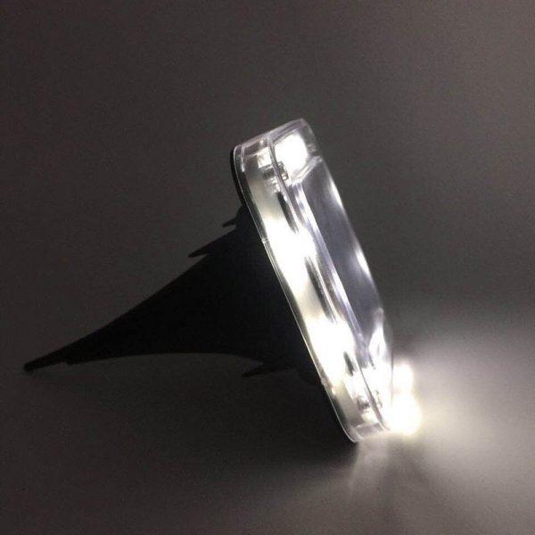 spot solaire encastrable carré led