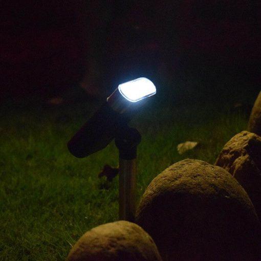 spot solaire exterieur pas cher led