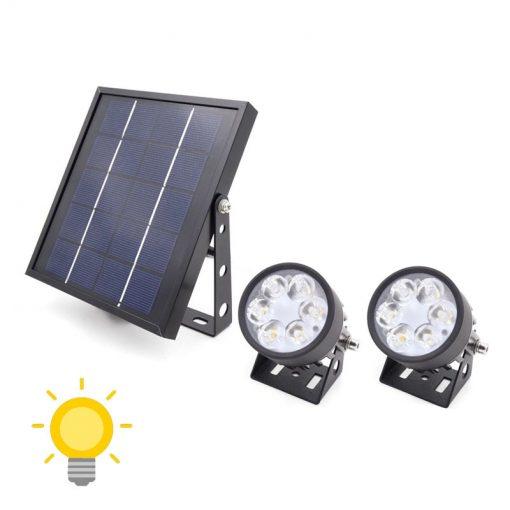 spot solaire exterieur puissant