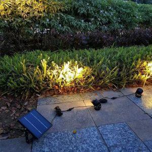 spot solaire exterieur puissant led