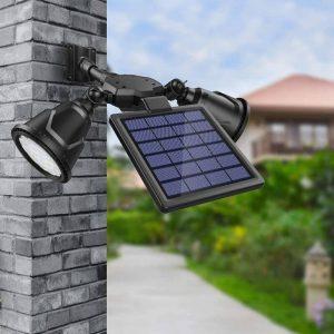 spot solaire led avec détecteur mouvement exterieur