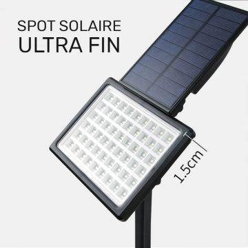 spot solaire led exterieur terrasse