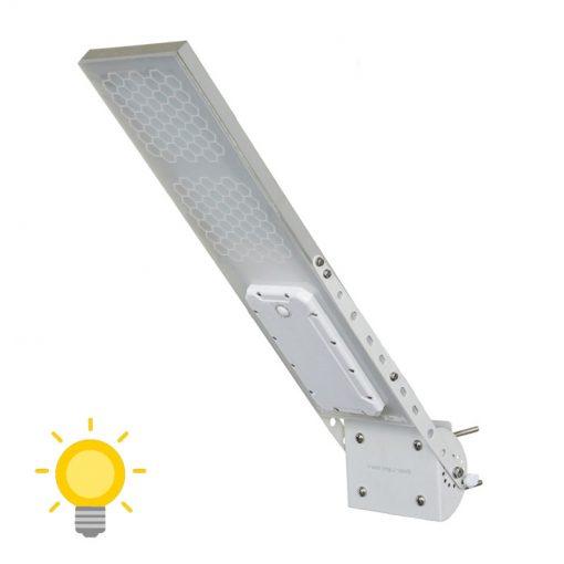 tete de lampadaire solaire