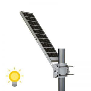 tete de lampadaire solaire autonome