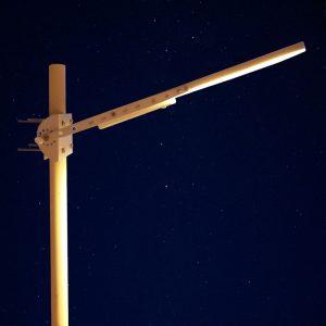 tete de lampadaire solaire urbain
