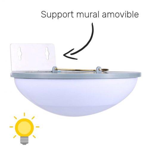 ampoule solaire puissante exterieur