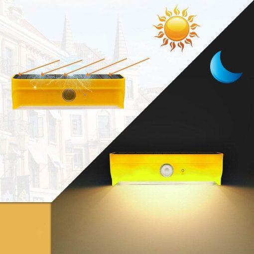 applique murale exterieur avec detecteur de mouvement solaire puissante