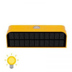 applique murale extérieur avec detecteur de mouvement solaire sans fil