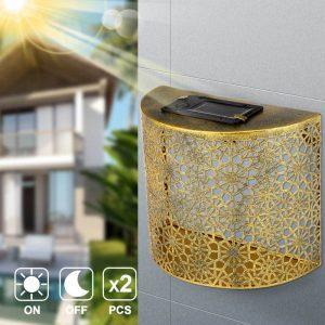 applique solaire led sans detecteur etanche